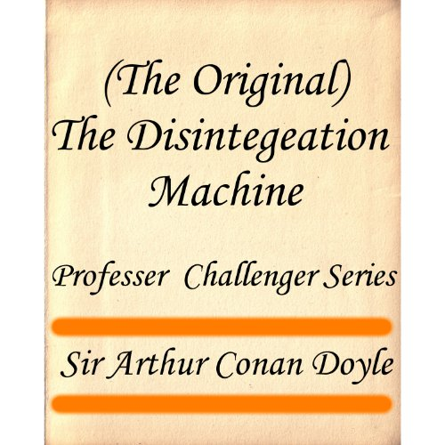 Large book cover: The Disintegration Machine