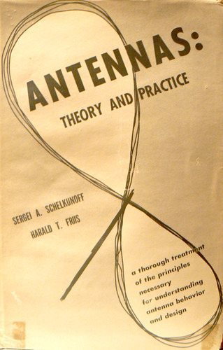 Large book cover: Antennas: Theory and Practice