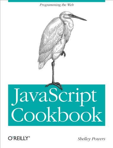 Large book cover: JavaScript Cookbook