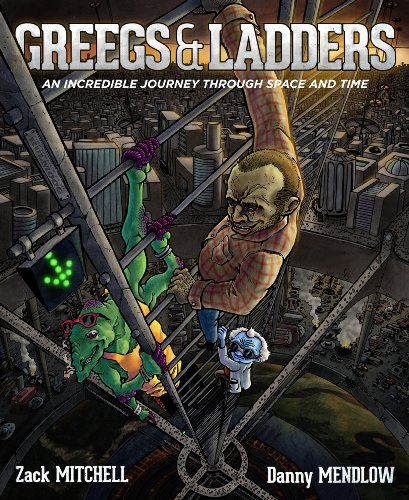Large book cover: Greegs and Ladders