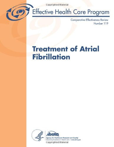 Large book cover: Treatment of Atrial Fibrillation