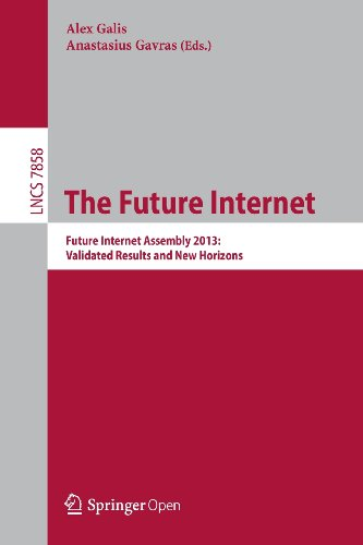Large book cover: The Future Internet