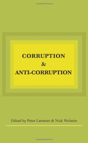 Large book cover: Corruption and Anti-Corruption