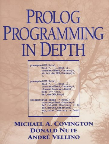 Large book cover: Prolog Programming in Depth
