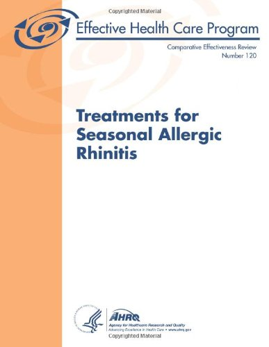 Large book cover: Treatments for Seasonal Allergic Rhinitis
