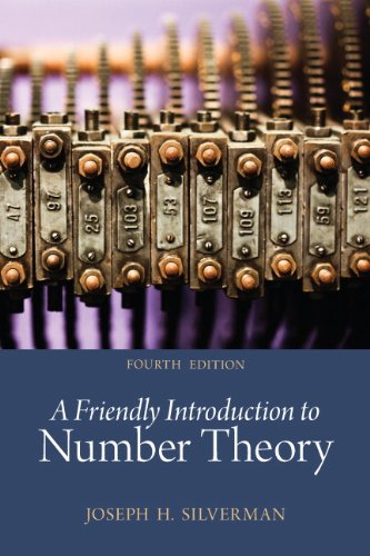 Large book cover: A Friendly Introduction to Number Theory