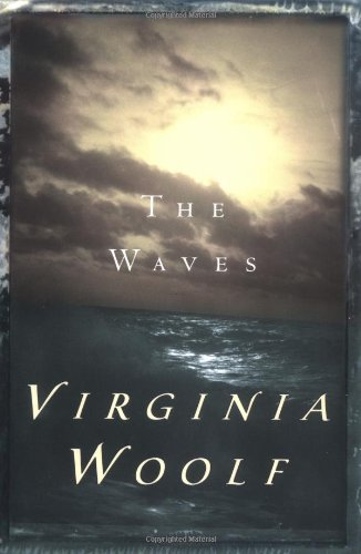 Large book cover: The Waves
