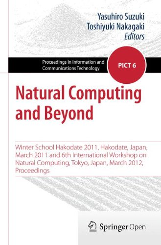 Large book cover: Natural Computing and Beyond