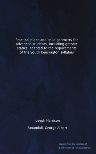 Large book cover: Practical Plane and Solid Geometry for Advanced Students