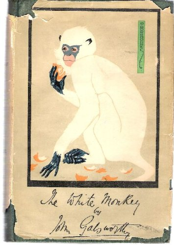 Large book cover: The White Monkey
