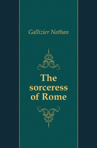 Large book cover: The Sorceress of Rome