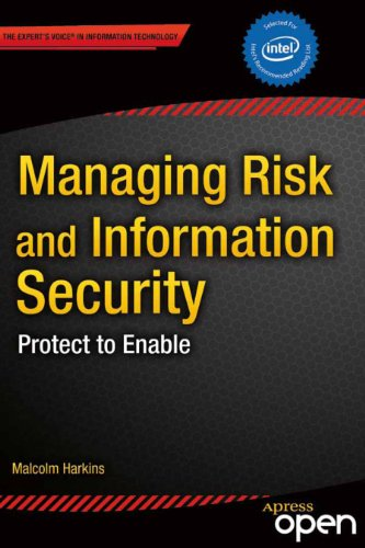 Large book cover: Managing Risk and Information Security