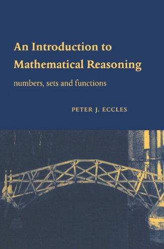 Large book cover: An Introduction to Mathematical Reasoning