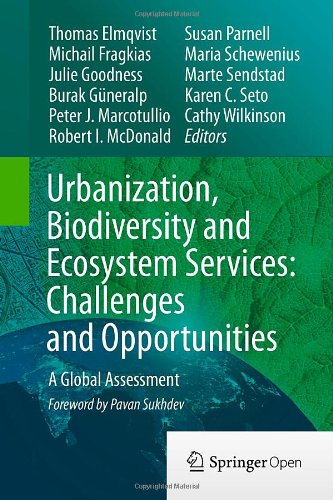 Large book cover: Urbanization, Biodiversity and Ecosystem Services