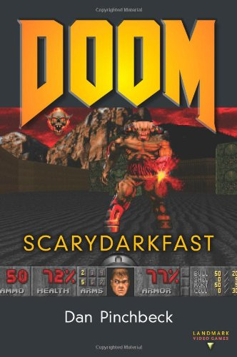 Large book cover: DOOM: SCARYDARKFAST