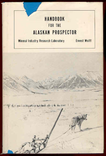 Large book cover: Handbook for the Alaskan Prospector