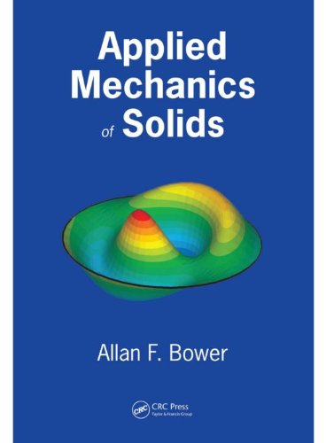 Large book cover: Applied Mechanics of Solids