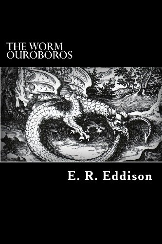Large book cover: The Worm Ouroboros