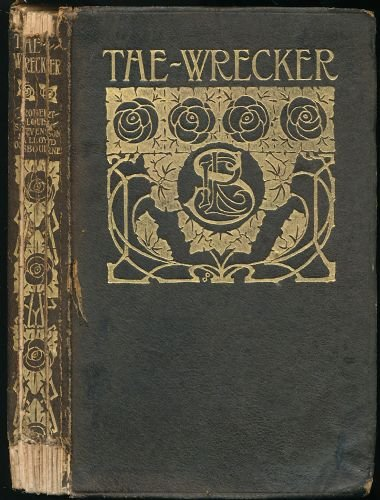 Large book cover: The Wrecker