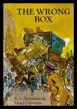 Large book cover: The Wrong Box