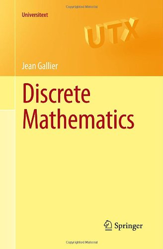 Large book cover: Discrete Mathematics for Computer Science