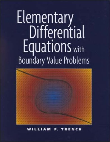Large book cover: Elementary Differential Equations with Boundary Value Problems