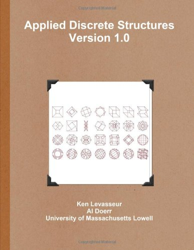 Large book cover: Applied Discrete Structures