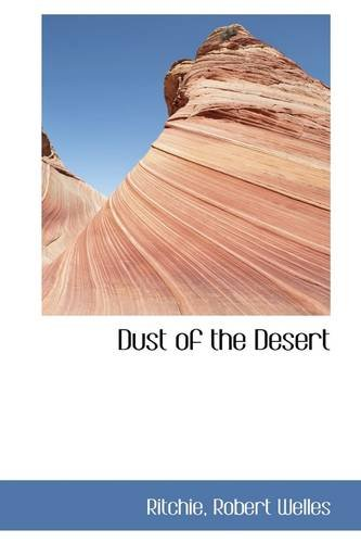 Large book cover: Dust of the Desert