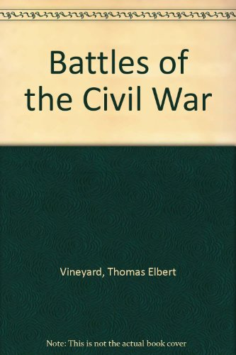 Large book cover: Battles of the Civil War