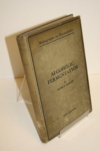Large book cover: Alcoholic Fermentation