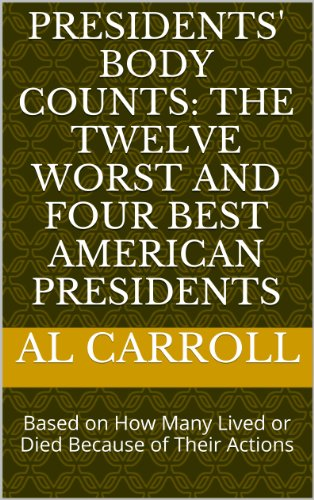 Large book cover: Presidents' Body Counts