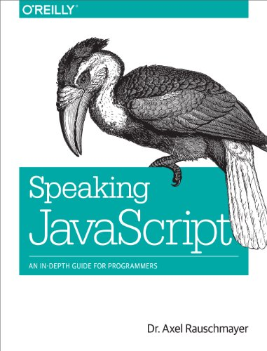 Large book cover: Speaking JavaScript
