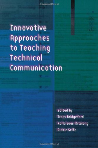 Large book cover: Innovative Approaches to Teaching Technical Communication