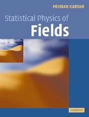 Large book cover: Statistical Physics of Fields