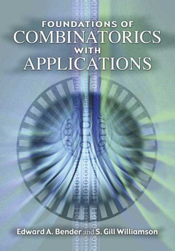 Large book cover: Foundations of Combinatorics with Applications