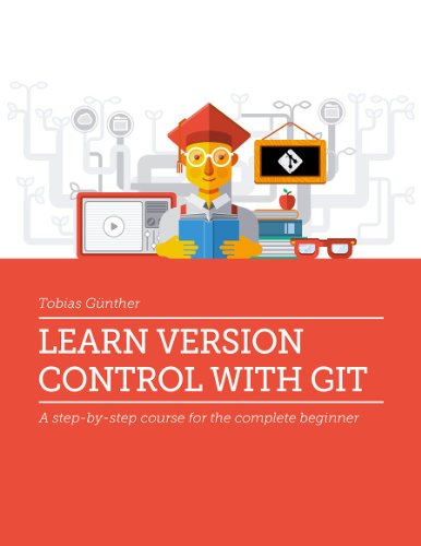 Large book cover: Learn Version Control with Git