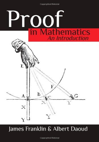 Large book cover: Proof in Mathematics: An Introduction