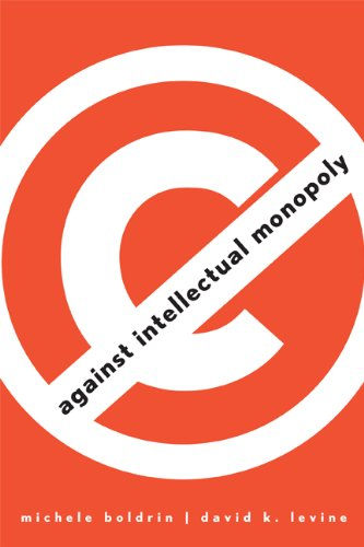 Large book cover: Against Intellectual Monopoly