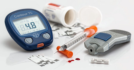 Illustration of Diabetes