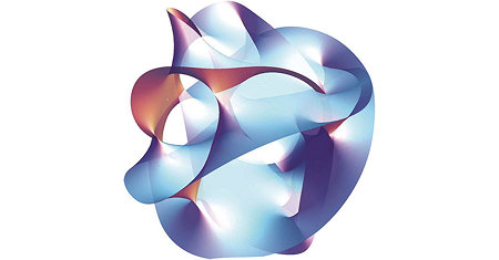 Illustration of String Theory