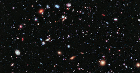 Illustration of Extragalactic Astronomy
