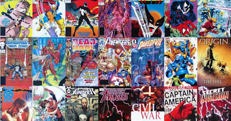 Illustration of Comics & Graphic Novels