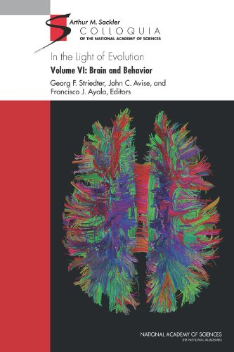Large book cover: In the Light of Evolution: Volume VI: Brain and Behavior