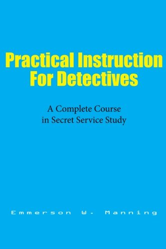 Large book cover: Practical Instruction for Detectives