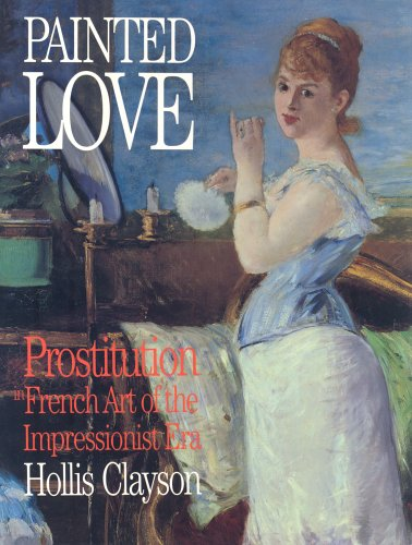 Large book cover: Painted Love