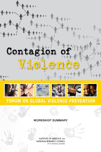 Large book cover: Contagion of Violence
