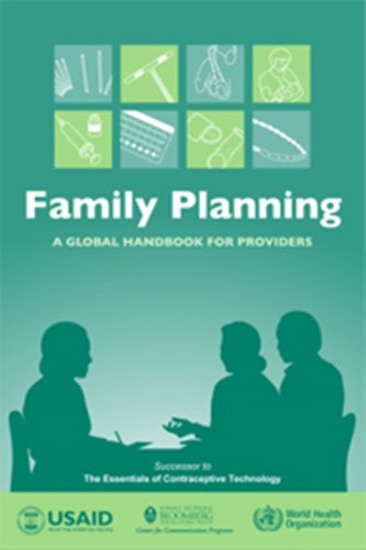Large book cover: Family Planning: A Global Handbook for Providers