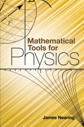 Large book cover: Mathematical Tools for Physics