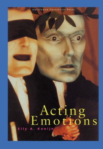 Large book cover: Acting Emotions