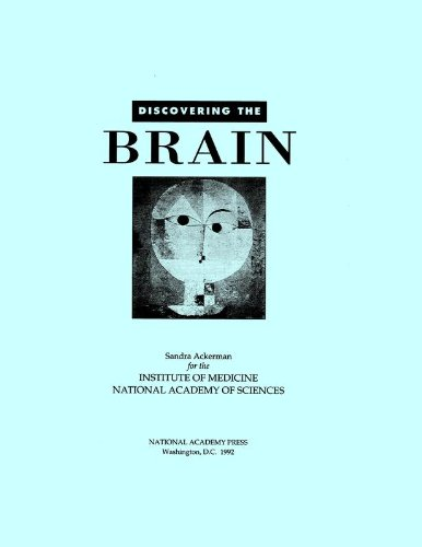 Large book cover: Discovering the Brain